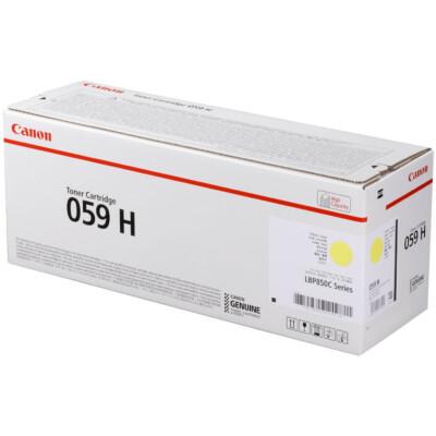 Canon CRG059H Toner Yellow /EREDETI/ 13,5K