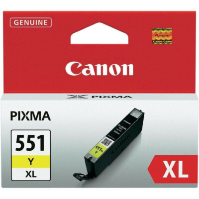 Canon CLI551XL Patron Yellow