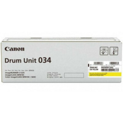 Canon Drum unit 034 Yellow (Eredeti)