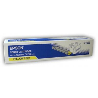 Epson C4200 Yellow toner 8,5K (Eredeti)