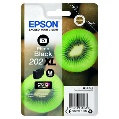 Epson T02H1 Patron Photo Black 7,9ml (Eredeti)