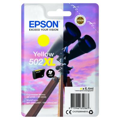 Epson T02W4 Patron Yellow 6,4ml (Eredeti)