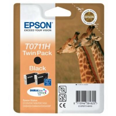 Epson T07114H Patron Black 2x11ml (Eredeti)