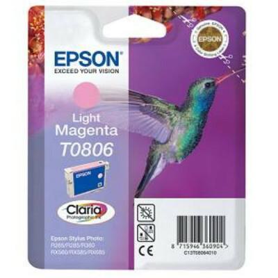Epson T0806 Patron Light Magenta 7,4ml (Eredeti)