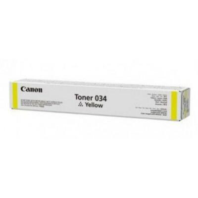 Canon Toner 034 Yellow (Eredeti)