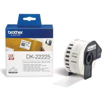 Brother DK22225 papírszalag (Eredeti)