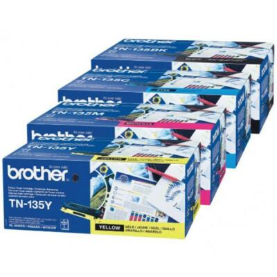 Brother TN135Y toner (Eredeti)