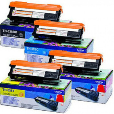 Brother TN328Y toner (Eredeti)