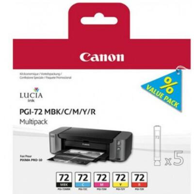 Canon PGI72 MBK/C/M/Y/R Multi pck