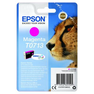 Epson T0713 Patron Magenta 5,5ml (Eredeti)