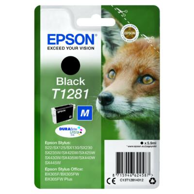 Epson T1281 Patron Black 5,9ml (Eredeti)