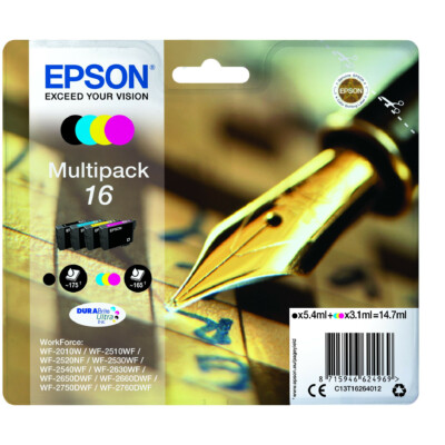 Epson T1626 Patron Multipack 16 (Eredeti)