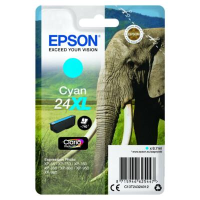Epson T2432 Patron Cyan 8,7ml 24XL (Eredeti)