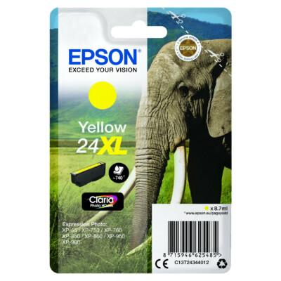 Epson T2434 Patron Yellow 8,7ml 24XL (Eredeti)