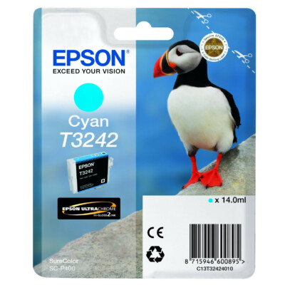 Epson T3242 Patron Cyan 14ml (Eredeti)