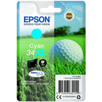 Epson T3472 Patron Cyan 10,8 ml (Eredeti)