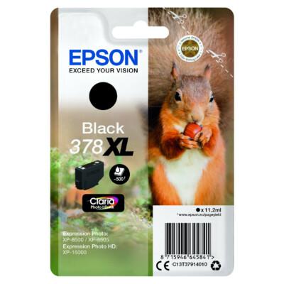 Epson T3791 Patron Black 11,2ml 378XL (Eredeti)